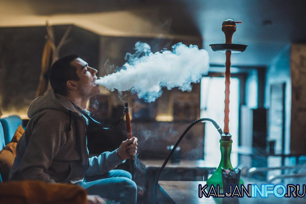 Курение кальяна - отдых с друзьями.
