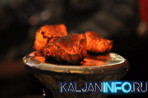 Подгоревшие угли вызывают горечь у шиши.