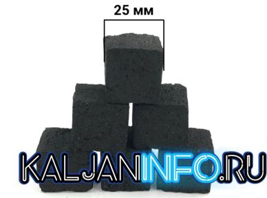 Вот уголь для кальяна 25 мм.