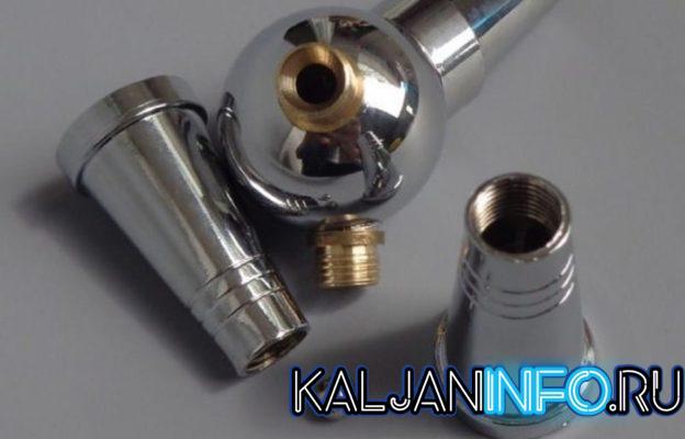 Из чего состоит клапан для обратной тяги в кальяне?