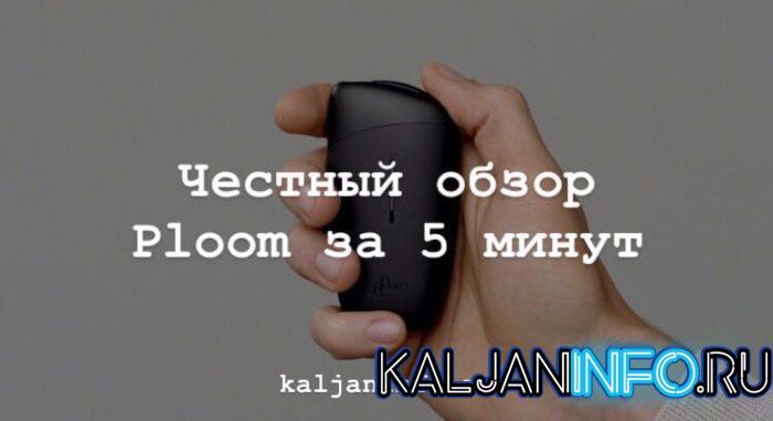 Заставка на обзор Ploom.
