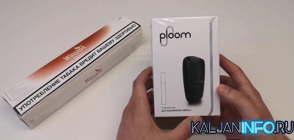 Стартовый набор Ploom при первой покупке.