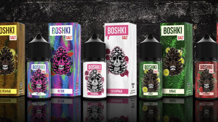 Жидкость Boshki Salt.