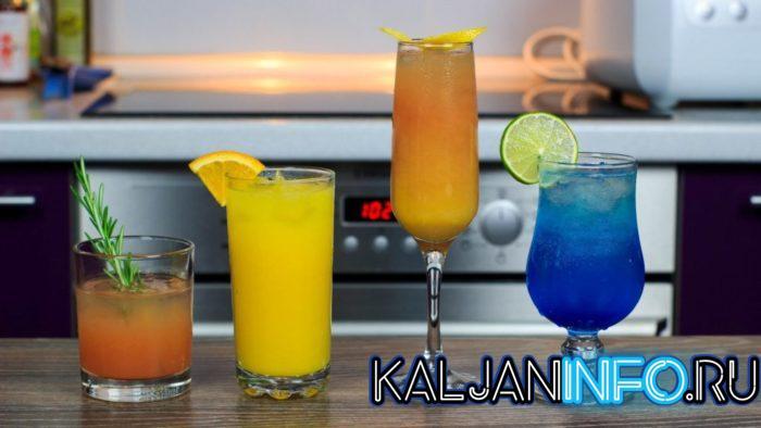 Популярные коктейли с водкой.