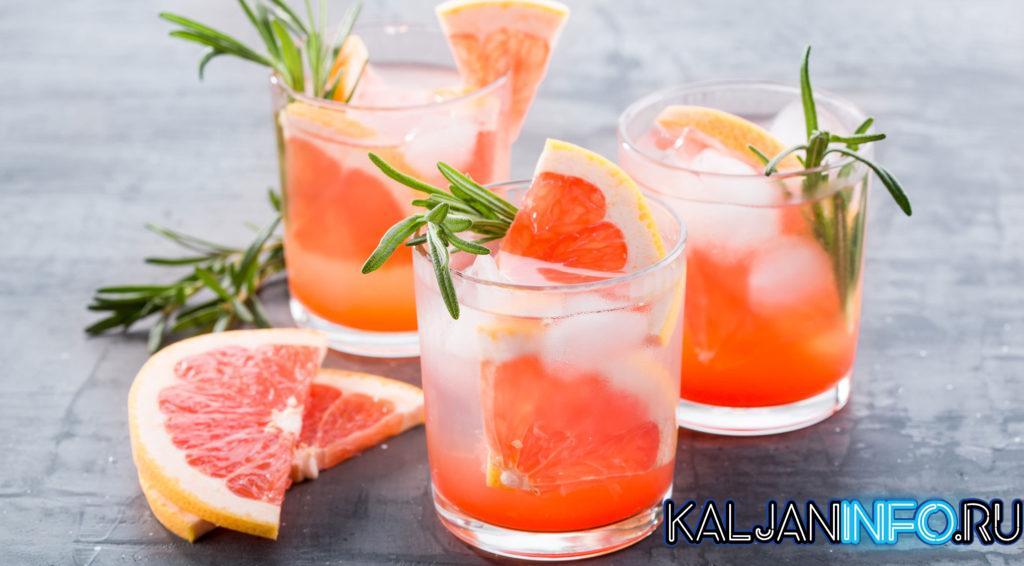 Грейпфрутовый джин тоник