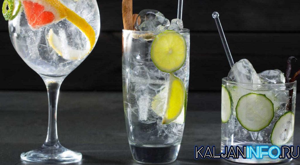 Три разновидности коктейля