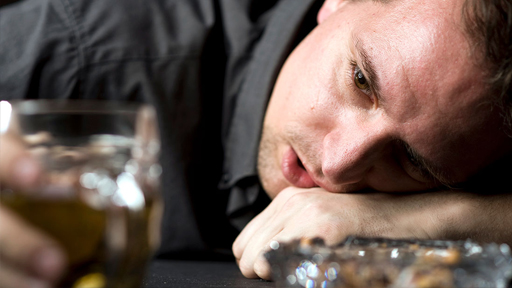 Депрессия из за алкоголя