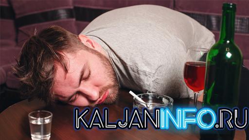 Мужчина с алкогольной интоксикацией