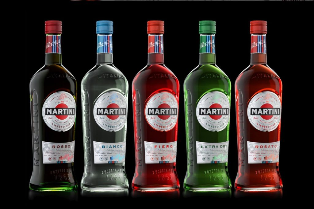 Разновидности мартини