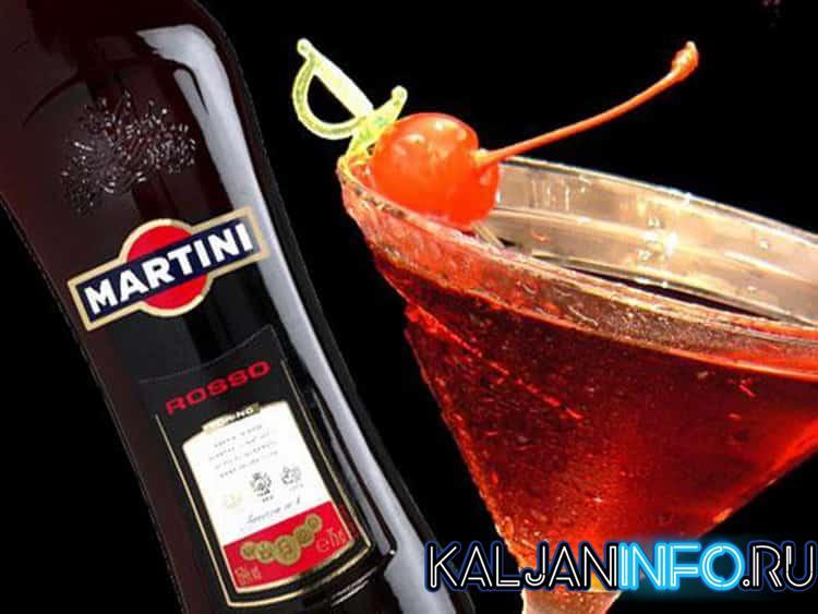 Сухой красный мартини