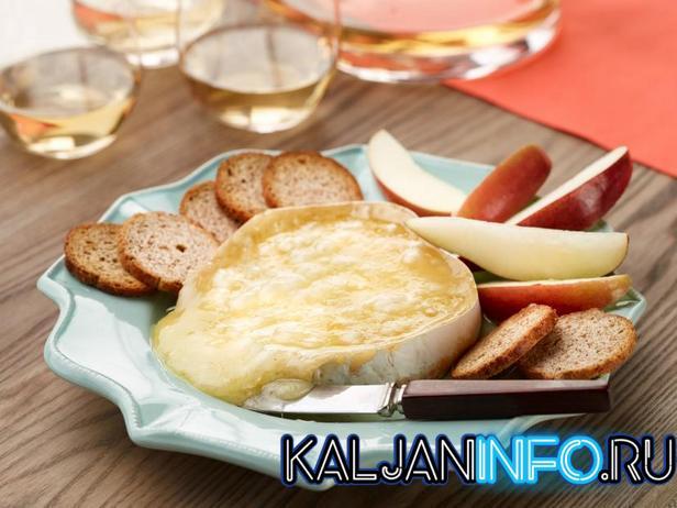Сыр бри и лимон